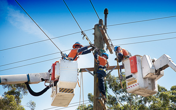 Transelect Technicians. Power Upgrade to a community of 2000 homes. - Wollongong, NSW