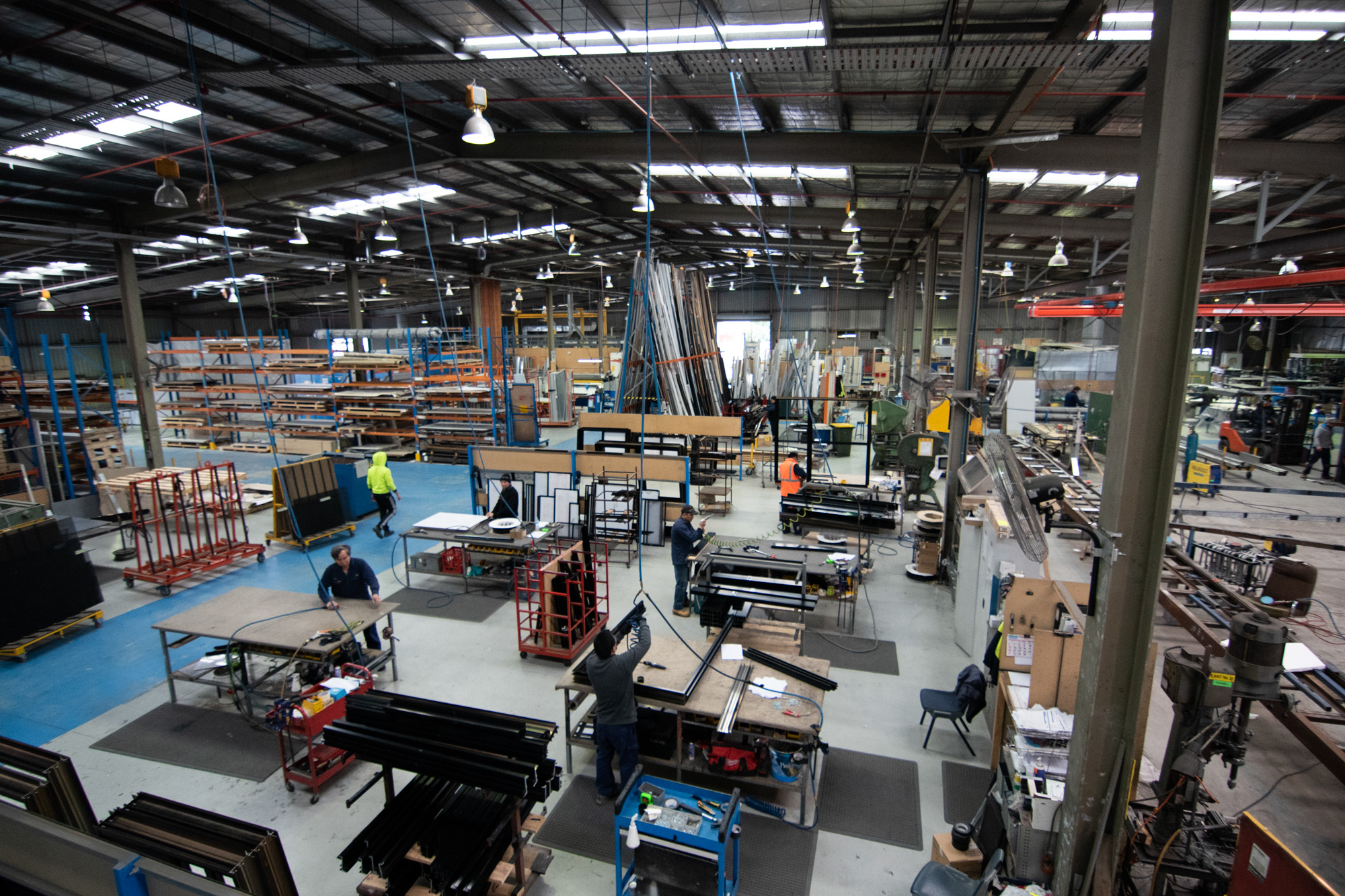 Metal Fabrication Production Factory in Regencu Park South Australia