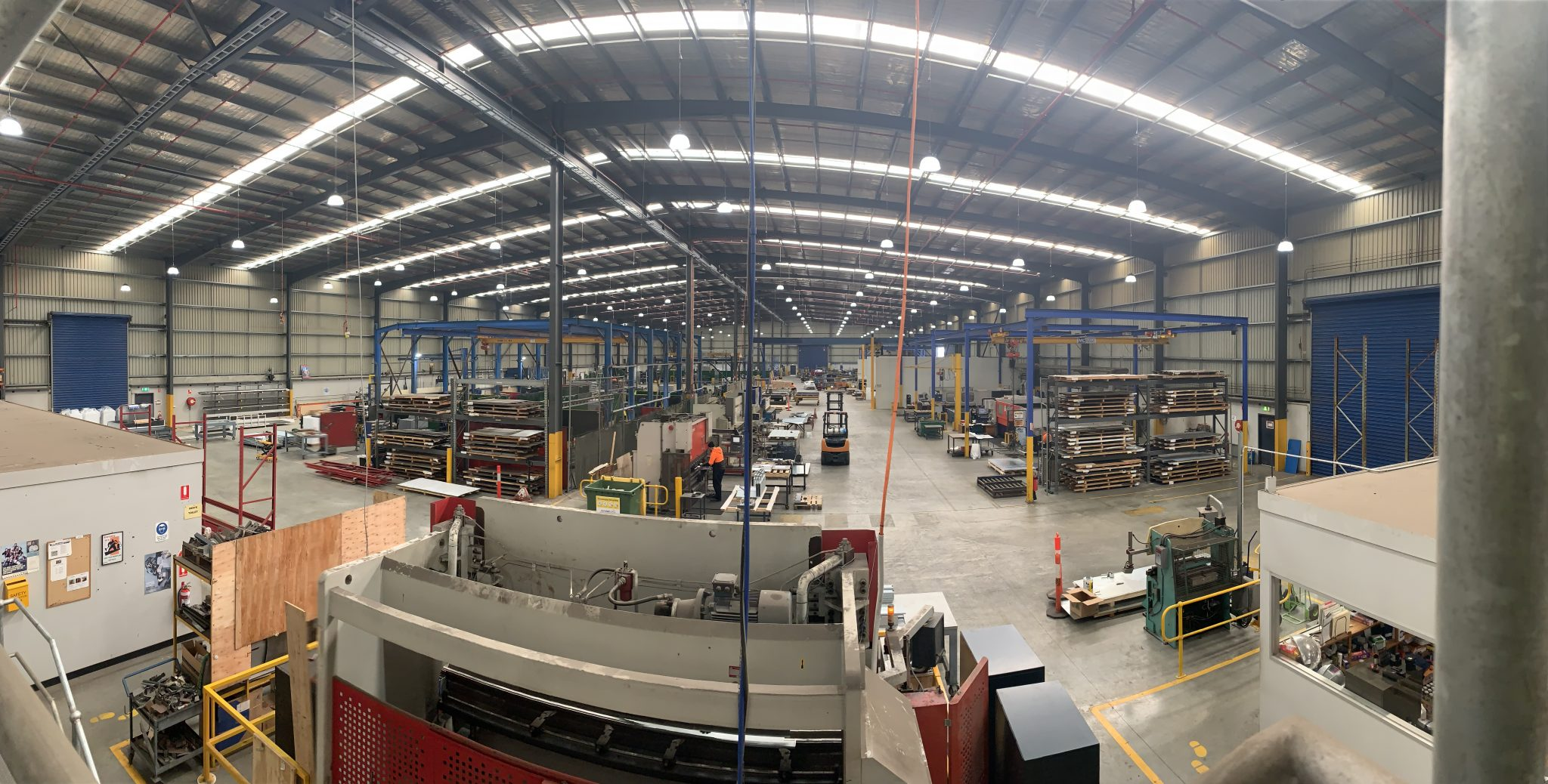 Metal Fabrication Production Factory in Derrimut Victoria