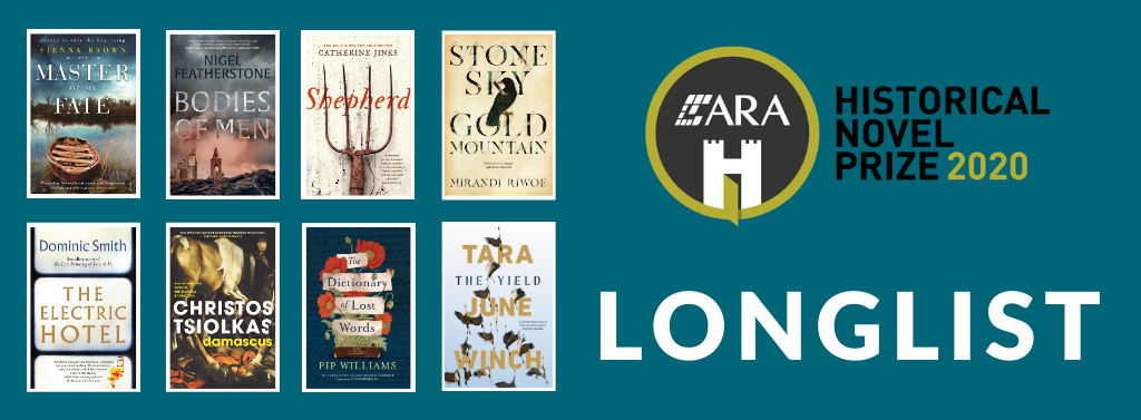 ARA Historical Novel Prize 2020 Longlist Announced